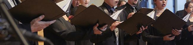 Concert singers