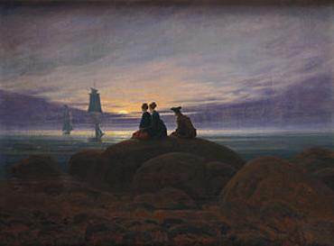 Caspar David Friedrich, Moonrise by the Sea