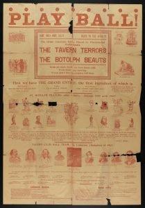 Tavern-St. Botolph Baseball Game Poster